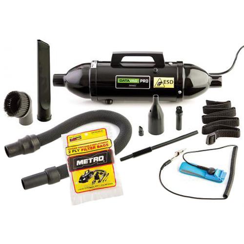 METRO DataVac ESD Safe/Anti-Static Vacuum/Blower, 120V (Black)