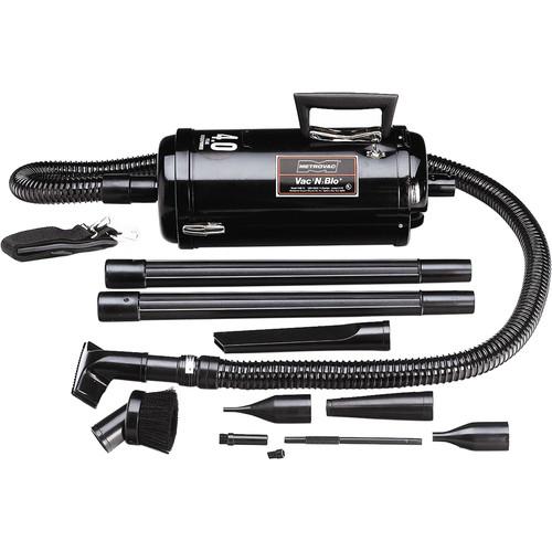 METROVAC Vac N Blo 4HP Compact Automotive, Twin Fan Vacuum