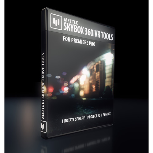 Mettle SkyBox 360 / VR Tools Plug-In for Premiere Pro (Download)