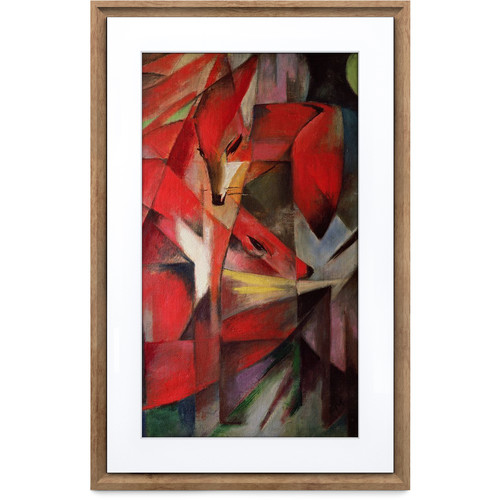 "Meural 21.5"" Canvas II Digital Art Frame (Dark Wood)"