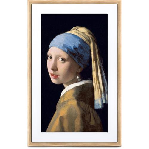"""Meural 21.5"""" Canvas II Digital Art Frame (Light Wood)"""