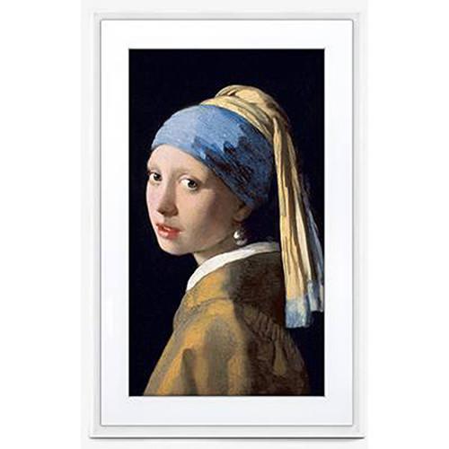 "Meural 21.5"" Canvas II Digital Art Frame (White)"