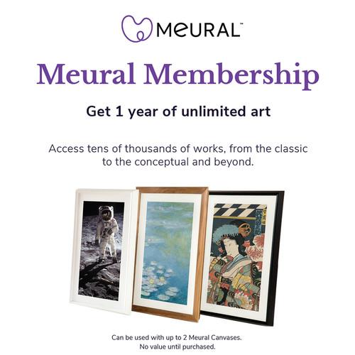 Meural Annual Membership Card