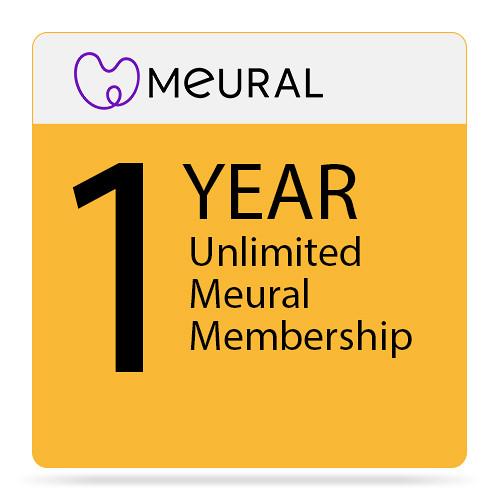 Meural 1-Year Unlimited Membership (Subscription)
