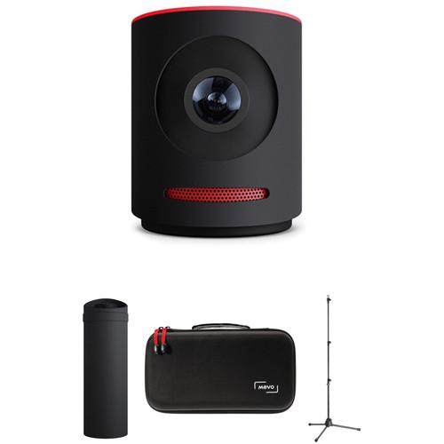 Mevo Live Event Camera Kit with Mevo Boost, Stand & Case (Black)