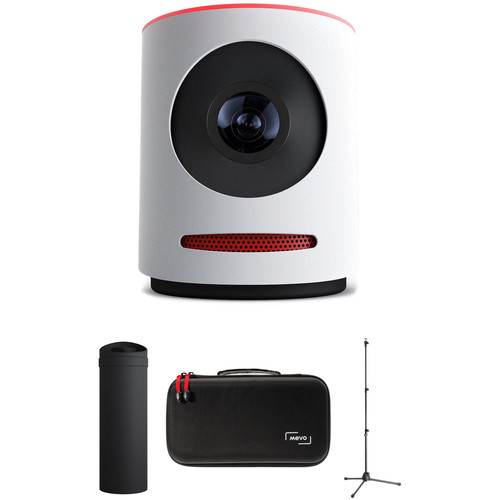 Mevo Mevo Live Event Camera Kit with Mevo Boost, Stand & Case (White)