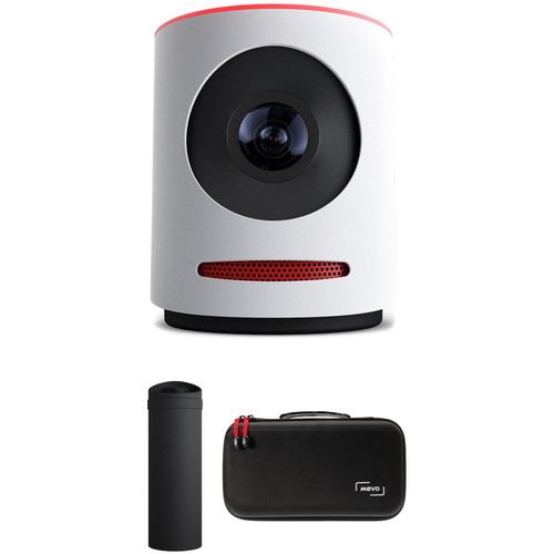 Mevo Live Event Camera with Mevo Boost and Case (White)