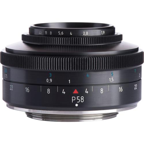 Meyer-Optik Gorlitz P58 58mm f/1.9 Lens for Micro Four Thirds
