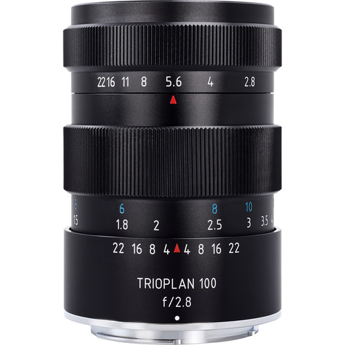 Meyer-Optik Gorlitz Trioplan 100mm f/2.8 Lens for Canon EF