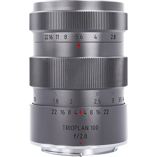 Meyer-Optik Gorlitz Trioplan 100mm f/2.8 Titanium Lens for Canon EF