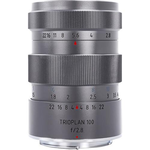 Meyer-Optik Gorlitz Trioplan 100mm f/2.8 Titanium Lens for Leica M