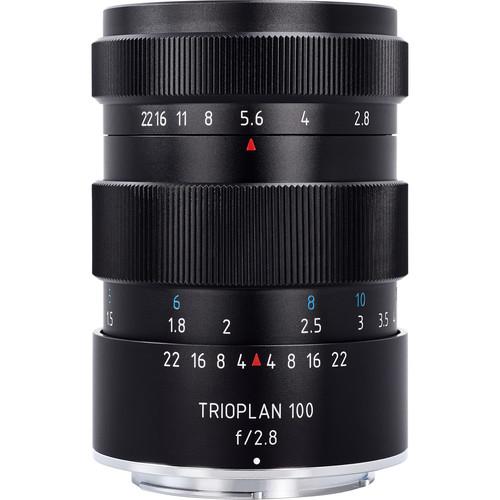 Meyer-Optik Gorlitz Trioplan 100mm f/2.8 Lens for Sony E