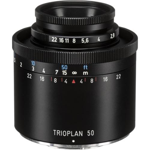 Meyer-Optik Gorlitz Trioplan 50mm f/2.9 Lens for Micro Four Thirds