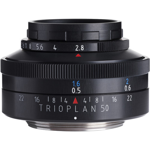 Meyer-Optik Gorlitz Trioplan 50mm f/2.9 Lens for Nikon F
