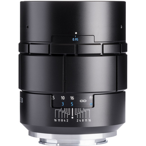 Meyer-Optik Gorlitz Nocturnus 50mm f/0.95 III Lens for Fujifilm X (Black)