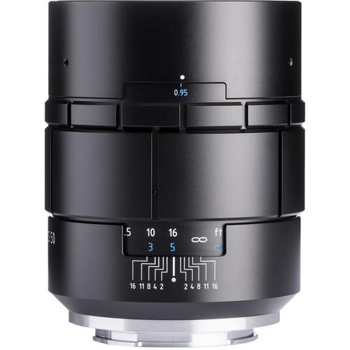 Meyer-Optik Gorlitz Nocturnus 50mm f/0.95 III Lens for Sony E (Black)