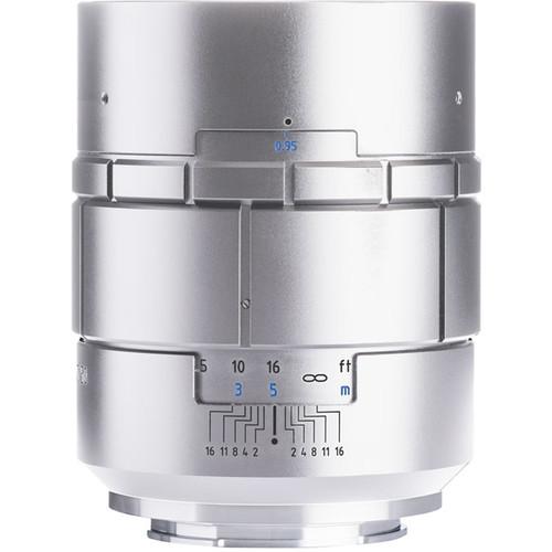 Meyer-Optik Gorlitz Nocturnus 50mm f/0.95 III Lens for Fujifilm X (Silver)