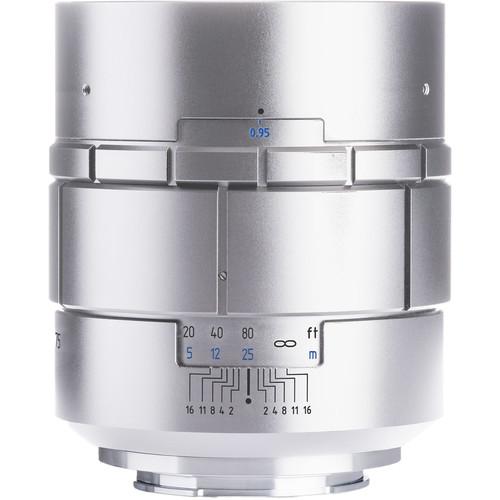 Meyer-Optik Gorlitz Nocturnus 75mm f/0.95 Lens for Fujifilm X (Silver)