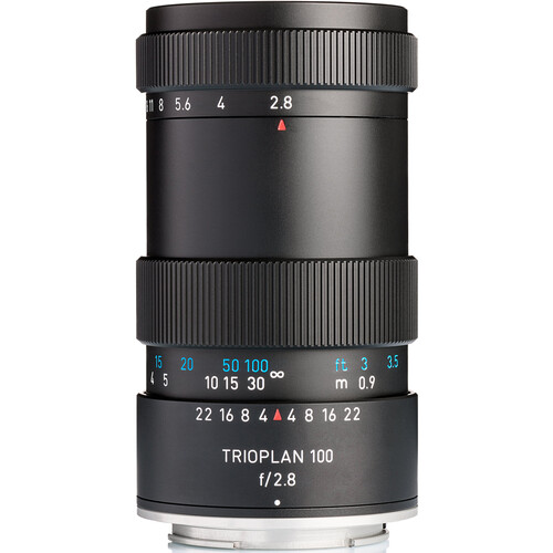 Meyer-Optik Gorlitz Trioplan 100mm f/2.8 II Lens for Micro Four Thirds
