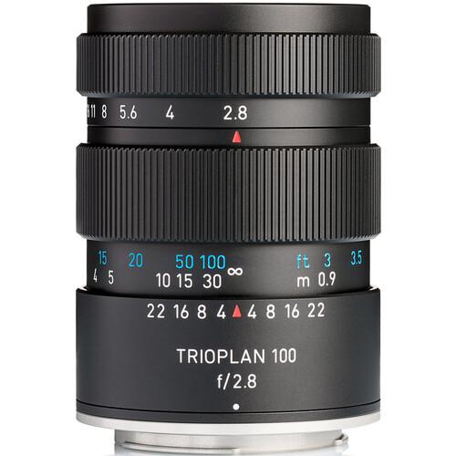 Meyer-Optik Gorlitz Trioplan 100mm f/2.8 II Lens for Nikon F (Black)