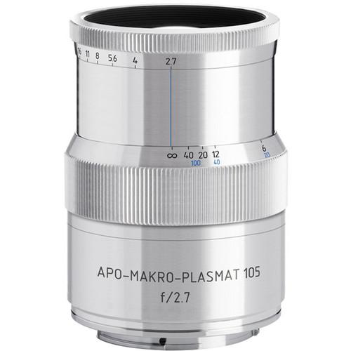Meyer-Optik Gorlitz APO-Makro-Plasmat 105mm f/2.7 Lens for Fujifilm X (Silver)