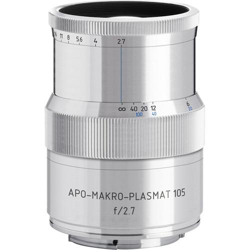 Meyer-Optik Gorlitz APO-Makro-Plasmat 105mm f/2.7 Lens for Hasselblad X (Silver)