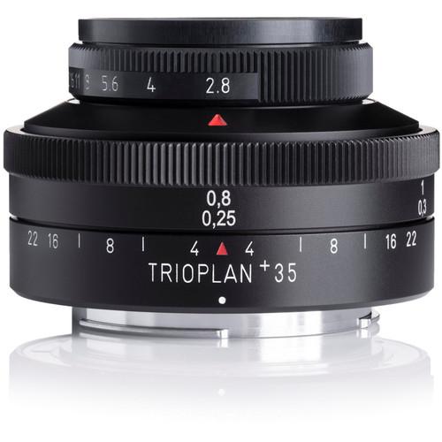 Meyer-Optik Gorlitz Trioplan 35+ 35mm f/2.8 Lens for M42