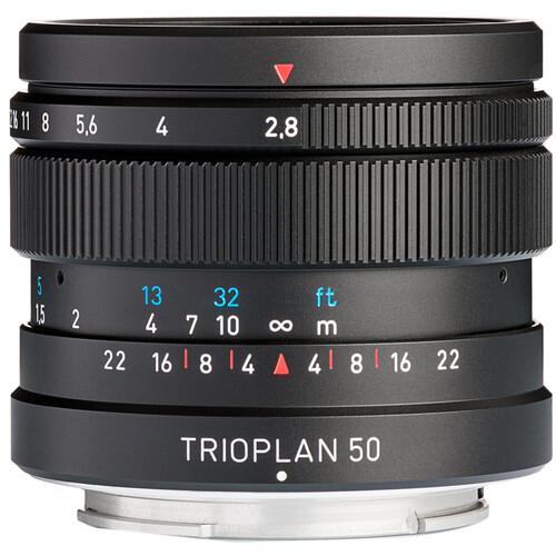 Meyer-Optik Gorlitz Trioplan 50mm f/2.8 II Lens for FUJIFILM X