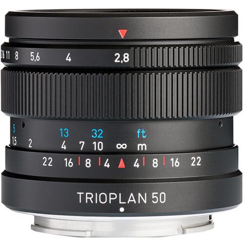 Meyer-Optik Gorlitz Trioplan 50mm f/2.8 II Lens for Micro Four Thirds