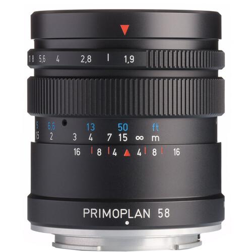 Meyer-Optik Gorlitz Primoplan 58mm f/1.9 II Lens for Micro Four Thirds