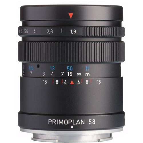 Meyer-Optik Gorlitz Primoplan 58mm f/1.9 II Lens for Sony E