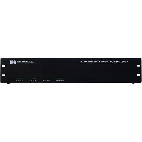 MG Electronics RM16AC 16-Channel 24/28 VAC Rack Mount Power Supply
