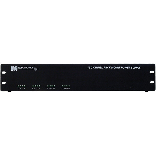 MG Electronics RM16AC 16-Channel 24/28 VAC Rack Mount Power Supply