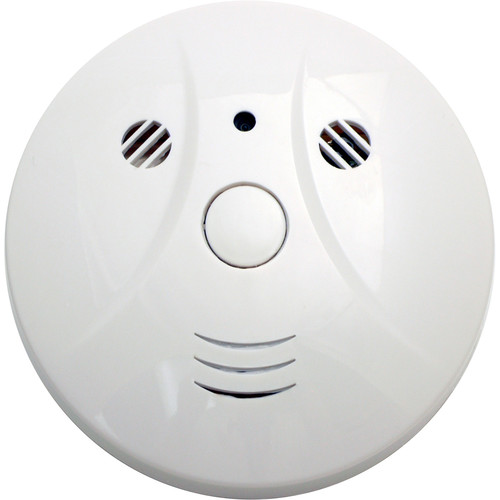 Mini Gadgets Code Bush Baby 2 Smoke Detector Covert Camera with 10 Hours of Battery Life