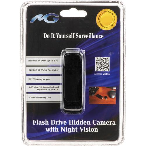 Mini Gadgets CamStickNV USB Flash Drive with Covert Camera
