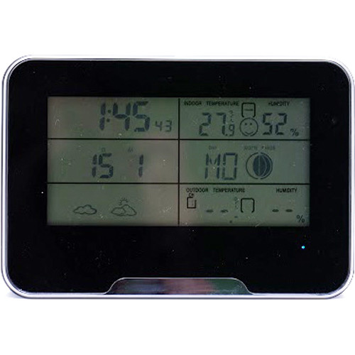 Mini Gadgets Digital Weather Clock with 1080p Covert Camera