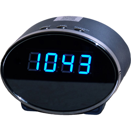 Mini Gadgets RDWIFICLOCK Round Clock with Covert Wi-Fi Camera