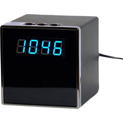 Mini Gadgets Square Clock with 720p Wi-Fi Covert Camera