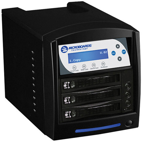 Microboards Digital Standalone 2-Drive HDD Tower Duplicator (Black)