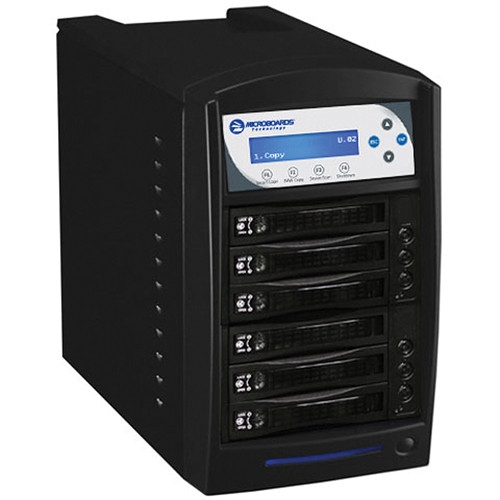 Microboards Digital Standalone 5-Drive HDD Tower Duplicator (Black)