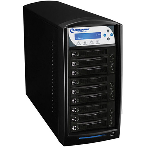 Microboards Digital Standalone 8-Drive HDD Tower Duplicator (Black)