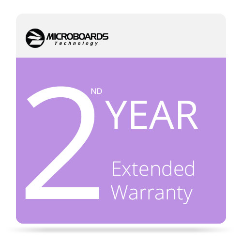 Microboards 2ND Year Extended Warranty for G4 Disc Publisher