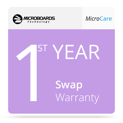 Microboards 1ST Year MicroCare Swap Warranty for G4A-1000 AutoPrinter