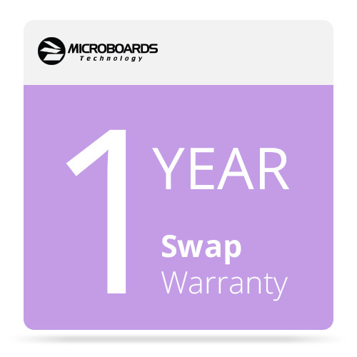 Microboards MCW G4P Microcare 1 Year Swap Warranty for G4 Disc Publisher