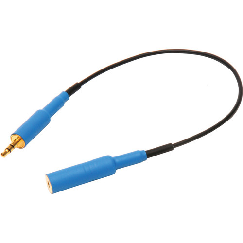 """Microphone Madness MM-EXTC-3 10"""" Extension Cable (Blue Connector Cover)"""