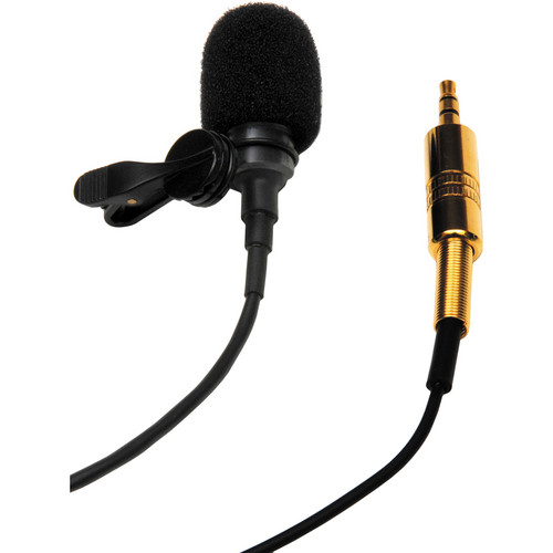 Microphone Madness MM-LAPEL-3 Lapel Style Cardioid Uni-Directional Microphone