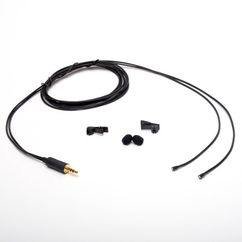 Microphone Madness MM-PC-11 Omnidirectional Lavalier Microphones (Pair, Black)