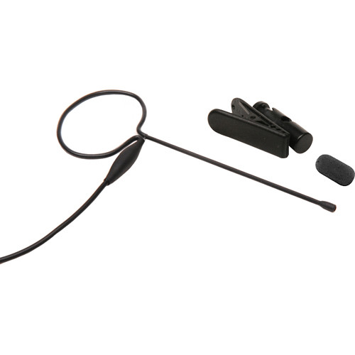 Microphone Madness MM-PSM-BL-EV Pro Single Earset Earworn Microphone for Select Electrovoice Wireless Systems (Black)