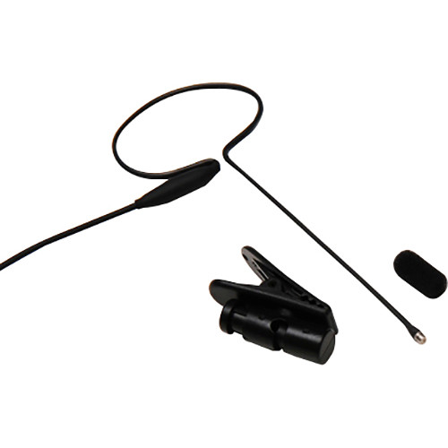 Microphone Madness MM-PSM-D-BL-SV Pro Single Earworn Directional Microphone for Select Samson Wireless Systems (Black)