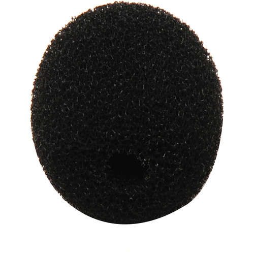 Microphone Madness Replacement Windscreen for MM-STM, MM-BSM, MM-Lapel Microphones (Black)